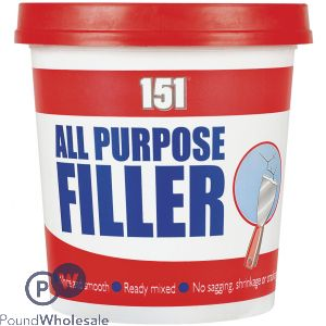 151 ALL PURPOSE FILLER WHITE TUB 600G