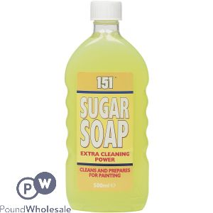 151 SUGAR SOAP LIQUID BOTTLE 500ML