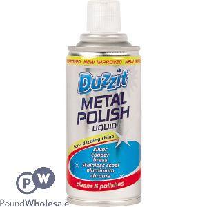 DUZZIT METAL POLISH LIQUID 180ML