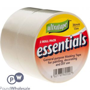 ULTRATAPE ESSENTIALS 2PC MASKING TAPE