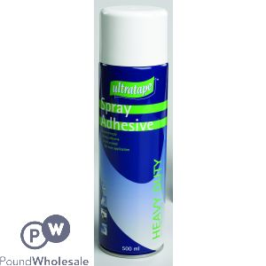ULTRATAPE SPRAY ADHESIVE HEAVY DUTY 500ML