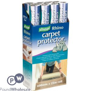 RHINO CARPET PROTECTOR ROLL 25M
