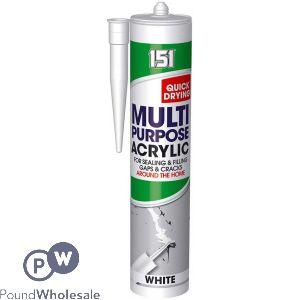 151 MULTIPURPOSE ACRYLIC SEALANT WHITE