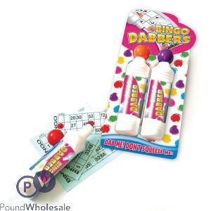 2 BINGO DABBER BOTTLES 2 COLOURS
