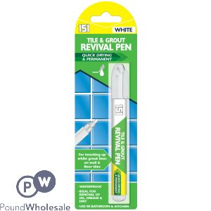 151 TILE & GROUT REVIVAL PEN WHITE