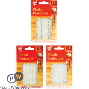 151 ASSORTED PLASTIC PROTECTORS
