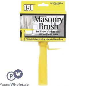 151 MASONRY BRUSH 13CM X 4CM