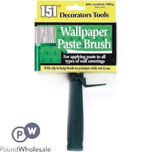151 WALLPAPER PASTE BRUSH 13CM X 4CM