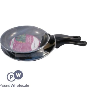 PRIMA NON-STICK FRY PANS ASSORTED SIZES 2PC