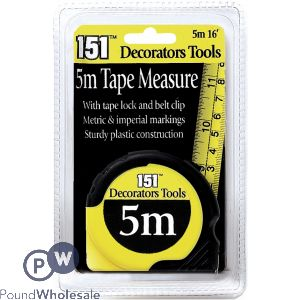 151 TAPE MEASURE 5M