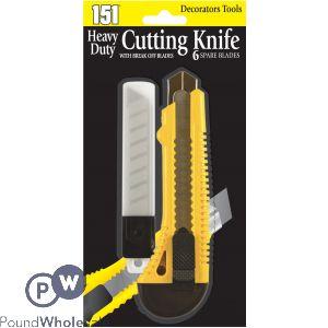 151 CUTTING KNIFE - HEAVY DUTY