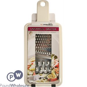 PRIMA STAINLESS STEEL UNIVERSAL GRATER