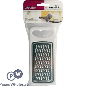 PRIMA STAINLESS STEEL GRATER WITH TRAY