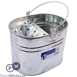 Metal Mop Bucket- 32 x 23 x 23cm
