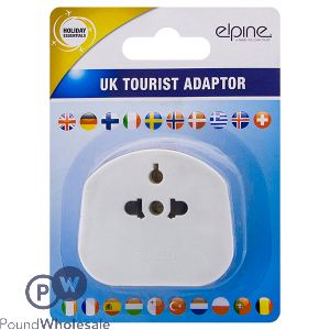 ELPINE UK TOURIST ADAPTER
