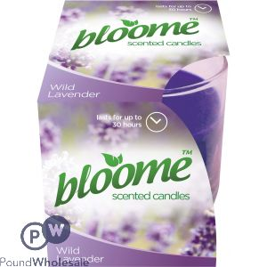 BLOOME WILD LAVENDER FRAGRANCED CANDLE 110G