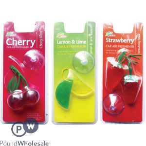 FRAGRANCED FRUIT SHAPED CAR AIR FRESHENER