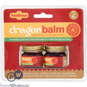 DRAGON BALM MASSAGE CREAM 2 PACK