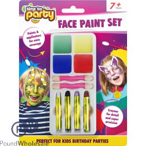 TIME TO PARTY FACE PAINT SET