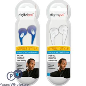 DIGITAL PAL STREET STYLE STEREO HEADPHONES