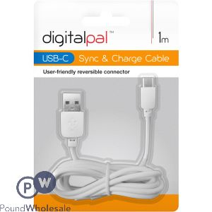 DIGITAL PAL USB-C SYNC & CHARGE CABLE 1M