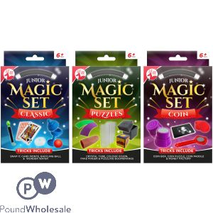 RED DEER TOYS ASSORTED JUNIOR MAGIC SETS