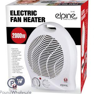 ELPINE ELECTRIC FAN HEATER 2000W