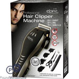 ELPINE 8-IN-1 PROFESSIONAL HAIR CLIPPER MACHINE TRIMMER SHAVER
