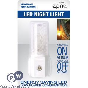 ELPINE AUTOMATIVE LED NIGHT LIGHT WITH SPARE BULB