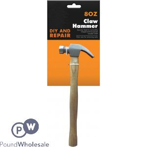 8OZ WOODEN HANDLED HAMMER