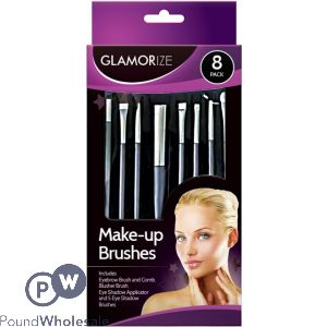MAKE UP BRUSH SET 8 PACK