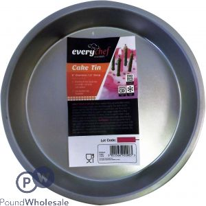 EVERY CHEF ROUND CAKE TIN 8""