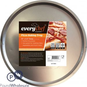 EVERY CHEF PIZZA BAKING TRAY 33CM X 0.7CM