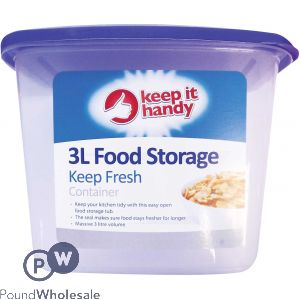 KEEP IT HANDY STORAGE CONTAINER 3L