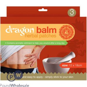 DRAGON BALM PLASTER 3 PACK
