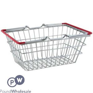 CHROME MINI SHOPPING BASKET