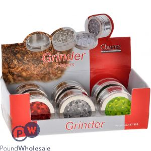 CHAMP GRINDER TRANSPARENT COVER 3 LAYERS
