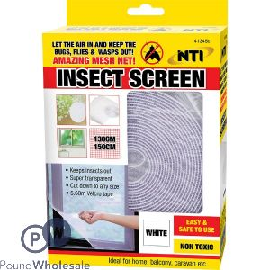 INSECT SCREEN WHITE