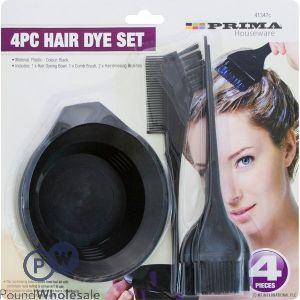 PRIMA HAIR DYE SET 4PC