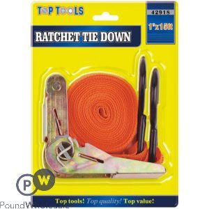 """1"""" X 15FT RATCHET TIE DOWN"""