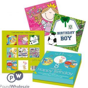 8 CHILDREN'S HAPPY BIRTHDAY CARD