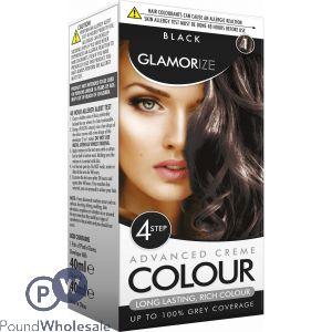 BLACK HAIR PERMANENT HAIR COLOUR NO.1