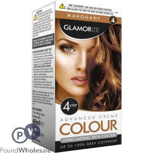 GLAMORIZE MAHOGANY PERMANENT HAIR COLOUR NO.4