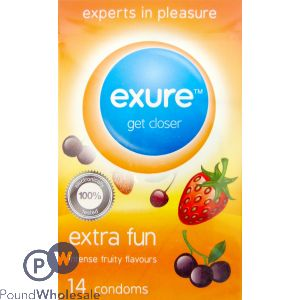 FLAVOURED CONDOMS 14 PACK