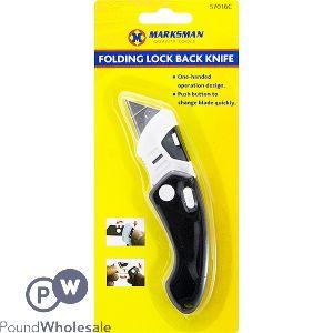MARKSMAN FOLDING LOCK BACK KNIFE