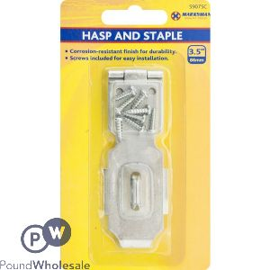 """MARKSMAN SECURITY HASP AND STAPLE 3.5"""""""