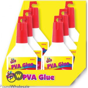 ARTBOX WHITE PVA GLUE 250ML CDU