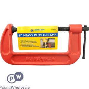 MARKSMAN HEAVY DUTY G-CLAMP 6""