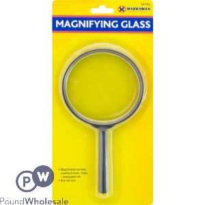 MARKSMAN MAGNIFYING GLASS 9CM