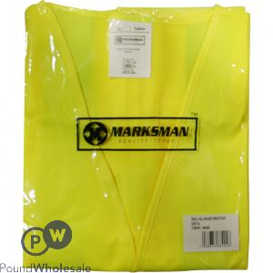 MARKSMAN YELLOW SAFETY VEST XXL